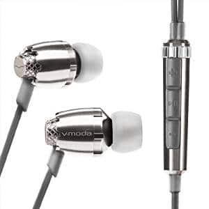 V-MODA Remix Remote In-Ear Noise-Isolating Metal Headphone with 3-Button Apple Control