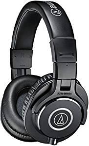 Audio-Technica ATH-M40x Professional Studio Monitor Headphones, Black
