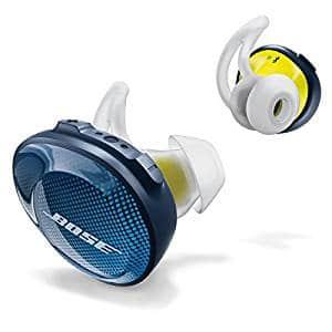 Bose SoundSport Free Truly Wireless Sport Headphones – Midnight Blue / Citron