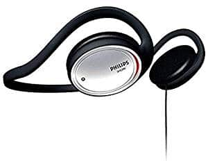 Philips SHS390 On-Ear Stereo Headphones (Black)