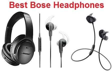 Top 15 Best Bose Headphones - Complete Guide