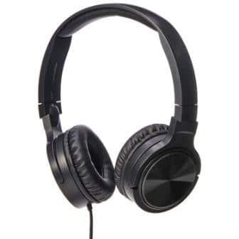 AmazonBasics Lightweight On-Ear Headphones