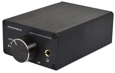 MonoPrice 113194 25 Watt AB Power Amplifier Hybrid Tube