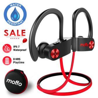 Moffo Wireless Headphones Sport HD Stereo