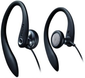 Philips SHS3200BK37 Flexible Earhook Headphones