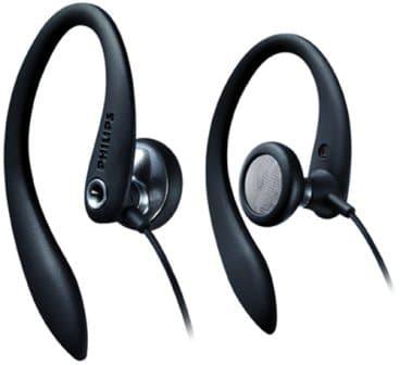 Philips SHS3200BK37 Flexible Earhook Headphones