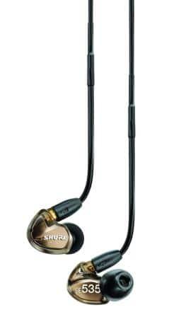 Shure SE535-V Sound Isolating Earphones