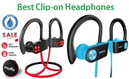 Top 15 Best Clip-on Headphones in 2020 - Complete Guide