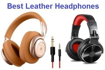 Top 15 Best Leather Headphones in 2019