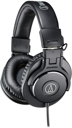 Audio-Technica ATH-M30x Professional Studio Monitor Headphone