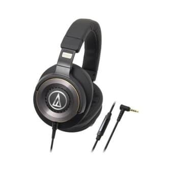 Audio Technica Headphones with In-Line Mic and Controls