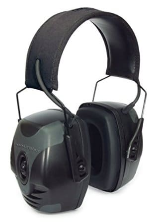 Howard Leight by Honeywell Impact Pro High Noise Reduction Rating Sound Amplification Electronic Shooting Earmuff
