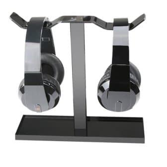 MOCREO Acrylic Dual Balance Headset Stand
