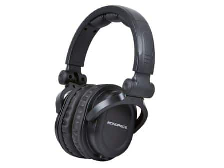 Monoprice Premium Hi-Fi Over-Ear DJ Headphones