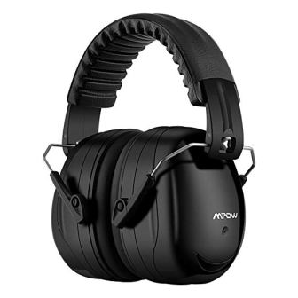 Mpow 035 Noise Reduction Safety Ear Muffs, Shooters Hearing Protection Ear Muffs