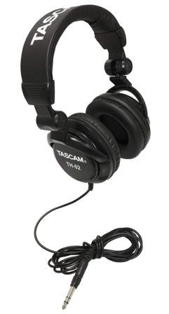 Tascam TH-02 Closed-Back Studio Headphones