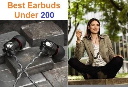 Top 15 Best Earbuds Under 200 in 2019