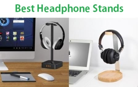 Audio-Technica Gaming Headset Display Beats Bose AKG Antank Headphone Stand Walnut Wood Headphone Stand Headset Hanger with Cable Holder for Sennheiser Sony