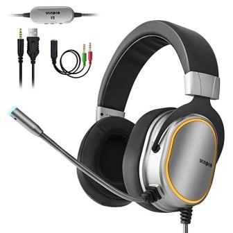 Vinpie Stereo Surround Sound Gaming Headset