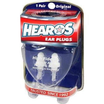 HEAROS High Fidelity Musician Ear Plugs