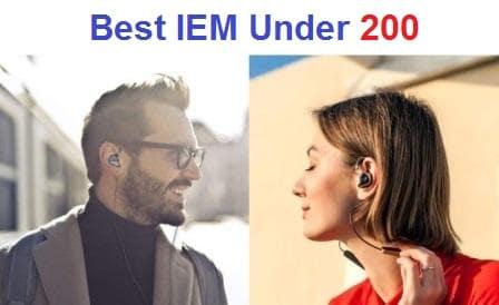 Top 15 Best IEM Under 200 in 2019