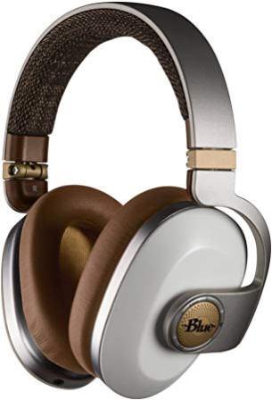 Blue Satellite Premium Wireless Headphones
