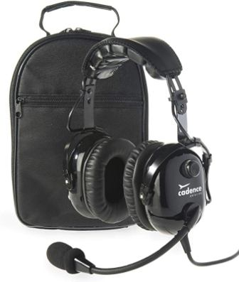 Cadence CA501 Premium PNR Pilot Aviation Headset