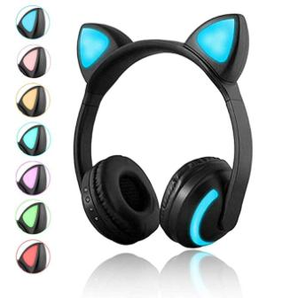 Luckyu Wireless Cat Ear Headphones