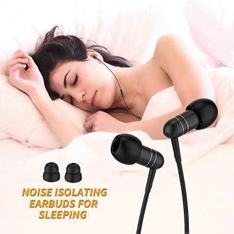 Mijiaer Noise Isolating Sleep Headphones
