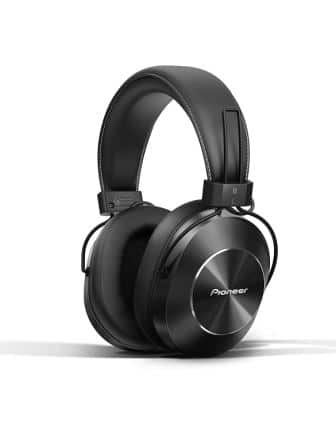 Pioneer Bluetooth and High-Resolution Over-Ear Wireless Headphone SE-MS7BT-K