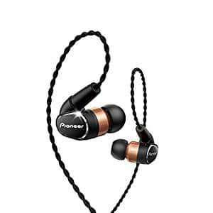 Pioneer Hi-Res in-Ear Ergonomic Premium Dynamic Headphones (SE-CH9T(K))