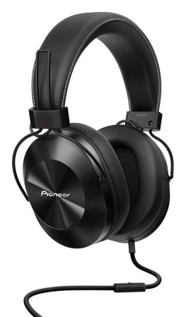 Pioneer High res Sealed Dynamic Stereo Headphone SE-MS5T-K(