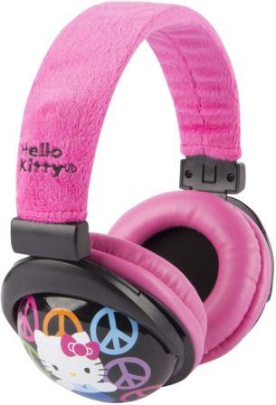Sakar 30309-TRU Hello Kitty Kid Safe Over The Ear Headphone with Volume Limiter