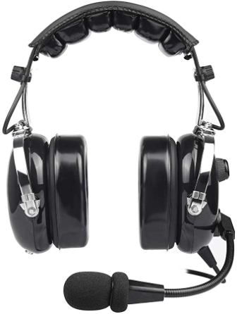 Spider Wireless General Aviation Pilot Headset