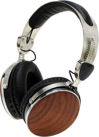Symphonized Wraith 2.0 Bluetooth Genuine Wood Wireless Headphones