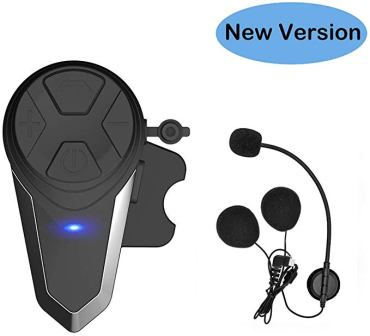 Thokwok Motorcycle Bluetooth Headset, BT-S3 1000m Headphones
