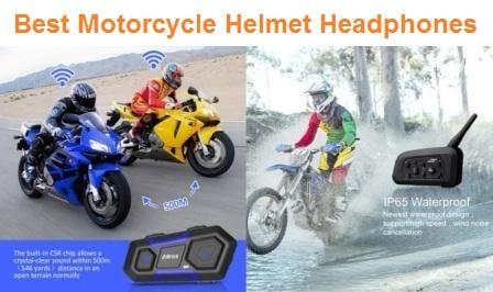 Top 15 Best Motorcycle Helmet Headphones in 2019