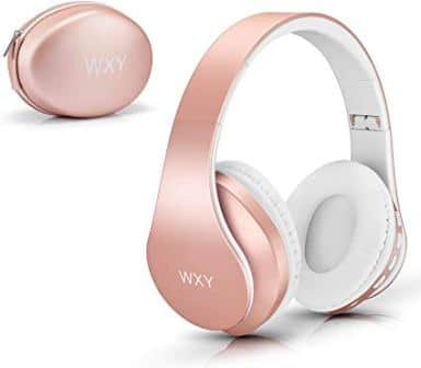 WXY Girls Wireless Headset V5.0 (Rose Gold)