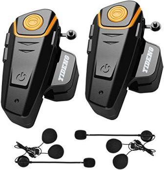 Yideng Bluetooth Headset Intercom Motorcycle Helmet Headphones
