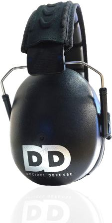 Decibel Defense 37dB NRR Professional Safety Earmuffs