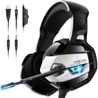 ONIKUMA Xbox 360 Over-Ear Gaming Headset