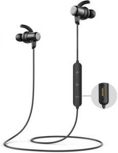 SOUNDPEATS Bluetooth Headphones IPX8 Sweatproof, Wireless Earbuds