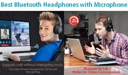 Top 15 Best Bluetooth Headphones With Microphone In 2020