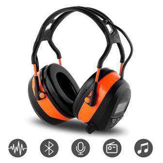 FM MP3 Bluetooth Radio Headphones by WULFPOWERPRO