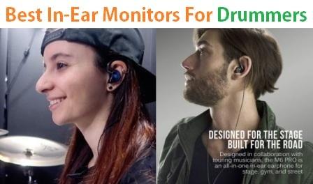 Top 15 Best In-Ear Monitors For Drummers in 2019