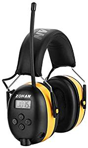 ZOHAN TYPE-A AM/FM Radio Headphone with Digital Display