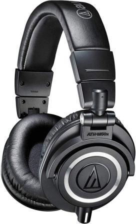Audio Technica – ATH-M50x Studio Monitor Headphones