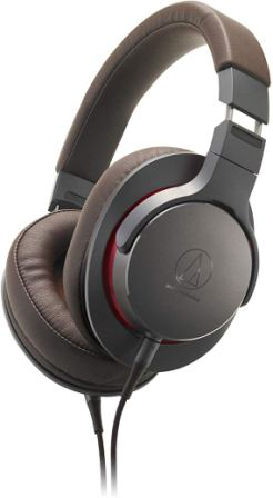 Audio Technica High Resolution Over Ear Gun Metal Headphones (ATH-MSR7BGM)