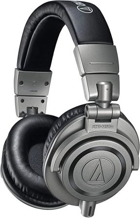 Audio Technica Professional Monitor Over Ear Studio Headphones (ATH-M50XGM)