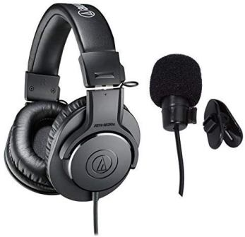Audio Technica Professional Studio On Ear Monitor Headphone (ATH-M20x)